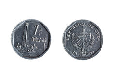 Cuban one cent Stock Images