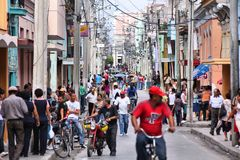 Cuban people Stock Image