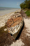 Cuban refugee raft Stock Photography