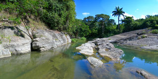 Cuban river Royalty Free Stock Images
