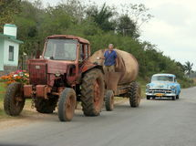 Cuban Roads Stock Images