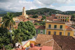 Cuban Rooftops Stock Photo