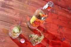 Cuban rum Stock Photography