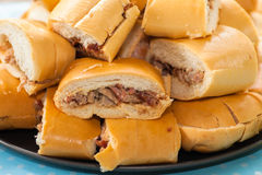 Cuban sandwich Royalty Free Stock Photos