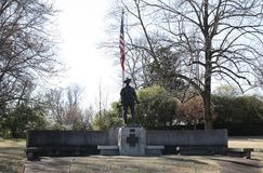 Cuban Spanish American War Memorial Memphis Stock Images