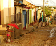 Cuban Street Life Stock Photos