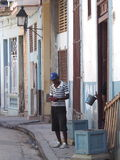 Cuban Street Scene Royalty Free Stock Image