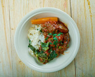 Cuban style Oxtail Stew royalty free stock photos