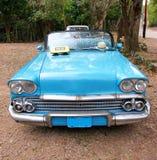 Cuban Taxi Stock Image
