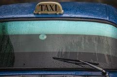 Cuban Taxi old American Car Stock Photography