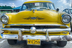 Cuban Taxi Stock Photography