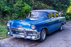 Cuban Taxi Royalty Free Stock Image
