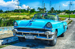 Cuban Taxi Royalty Free Stock Photography