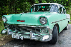 Cuban Taxi Royalty Free Stock Images