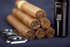 Cuban top cigar Royalty Free Stock Image