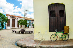 Cuban town Royalty Free Stock Photos