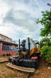 Cuban trains and railroads Stock Photos