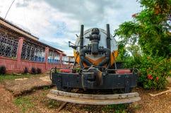 Cuban trains and railroads Stock Image