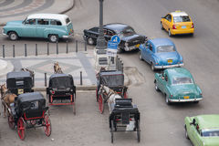Cuban transport. Royalty Free Stock Photo