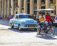 Cuban transport Royalty Free Stock Images