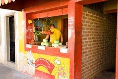Cuban vegetable shop, Trinidad, Cuba Royalty Free Stock Photos