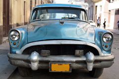 Cuban vintage car Royalty Free Stock Image