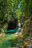 Cuban Waterfall and river Royalty Free Stock Image