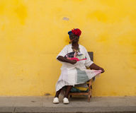 Cuban woman Royalty Free Stock Image