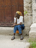 Cuban woman Stock Images