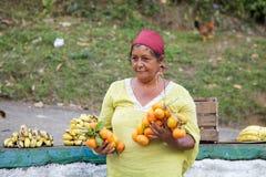 Cuban woman Royalty Free Stock Photo