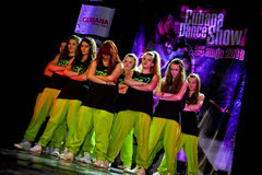 Cubana Dance Show Royalty Free Stock Image