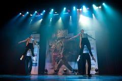 Cubana dansshow Arkivbilder