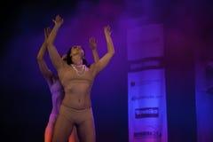 Cubana dansshow Arkivbild