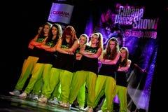 Cubana dansshow Royaltyfri Bild