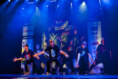 Cubana dansshow Arkivfoto