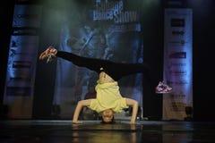 Cubana dansshow Royaltyfri Foto