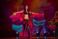 Cubana-Tanz-Show lizenzfreie stockbilder