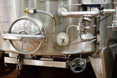 Cubas de la fermentación del vino Foto de archivo libre de regalías