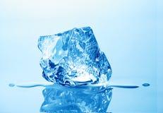 cube льдед Стоковые Фотографии RF