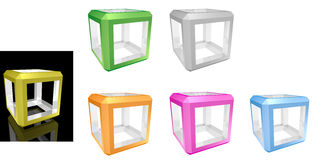 Cube Royalty Free Stock Photography