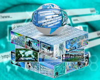 cube Image libre de droits