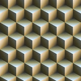 Cube abstract backgound. Stacked Cube pile abstract backgound stock illustration