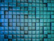 Cube abstract background. 3D. Rendering Stock Photos