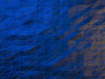 Cube abstract background. 3D. Rendering Royalty Free Stock Photography