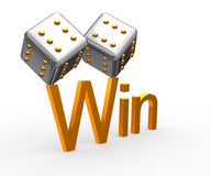 Cube&Win Royalty-vrije Stock Fotografie