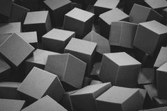 Cube Background Stock Photography