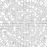 Cube background Royalty Free Stock Photos