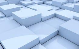 Cube background Royalty Free Stock Image