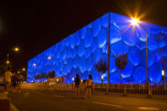 The Cube, Beijing. 2008 Olympics Aquatic Centre, The Cube, Beijing Royalty Free Stock Photography