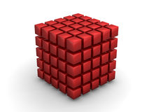 Cube Bing Bang Royalty Free Stock Photography